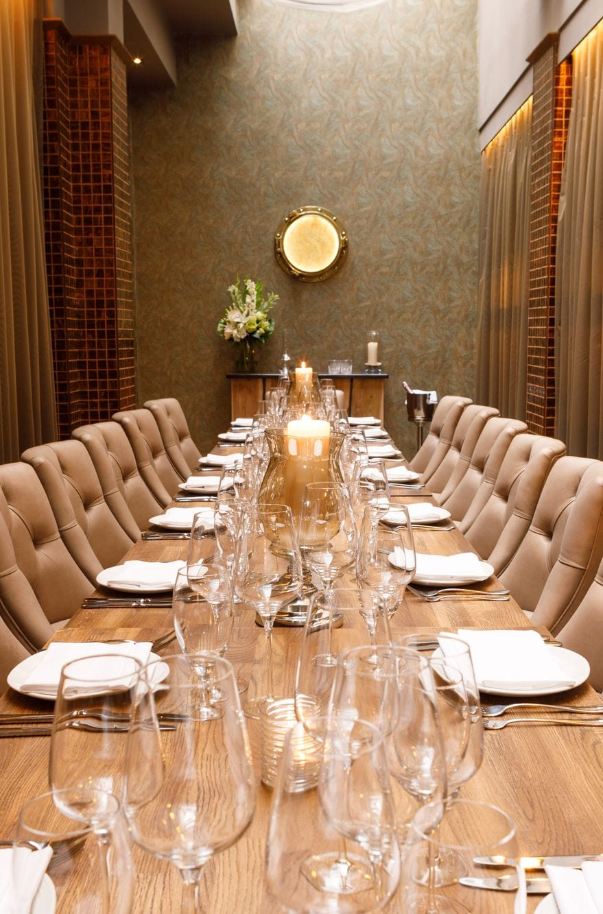 Private dining group dining dublin city centre sole for Best private dining rooms dublin